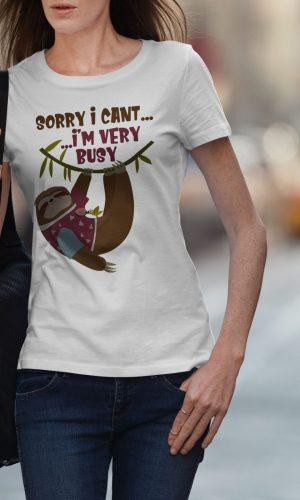 Дамска тениска Funny W 026