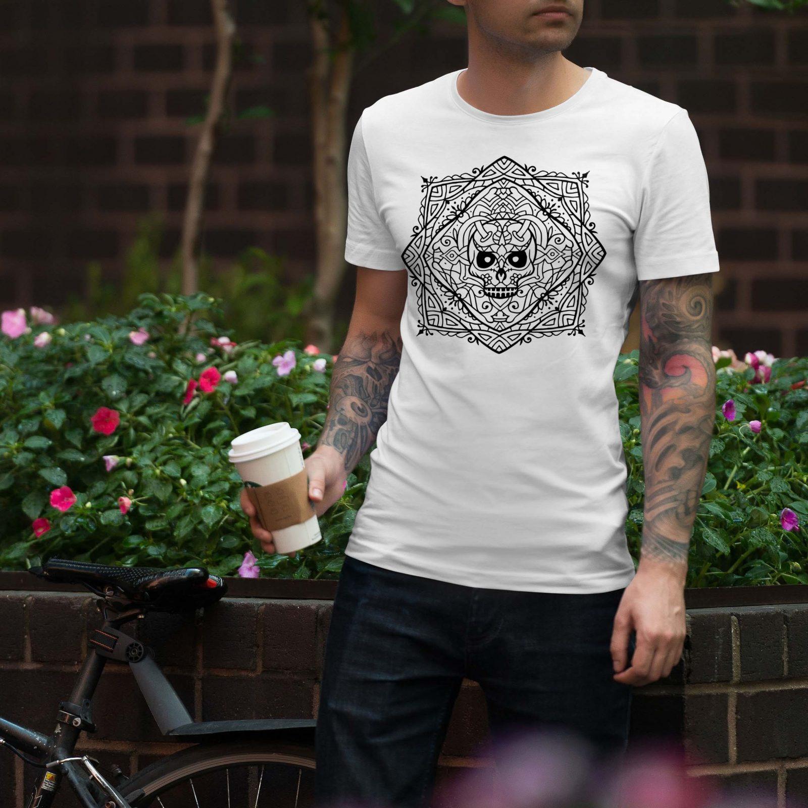 Ανδρικά μπλουζάκια Mandala