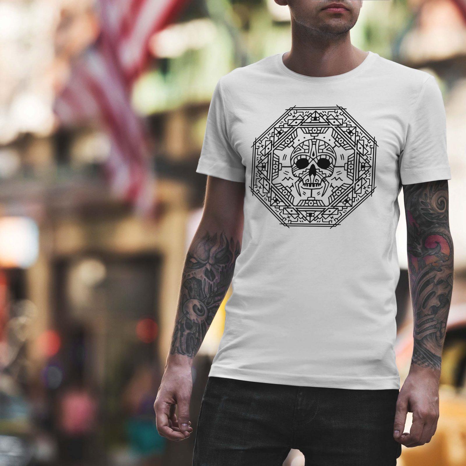 Мъжка тениска Mandala M 008 - на супер цени от ZeroBG