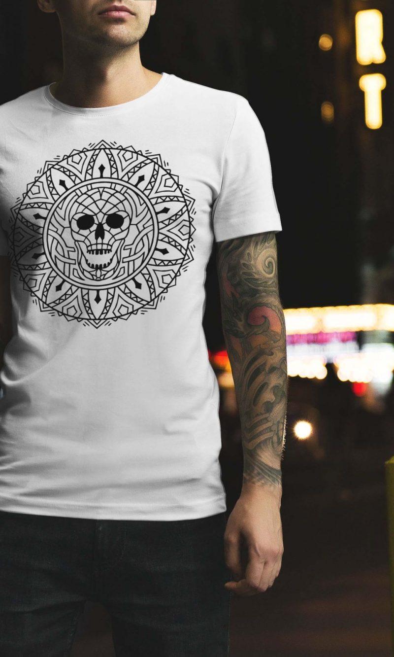 Мъжка тениска Mandala M 009