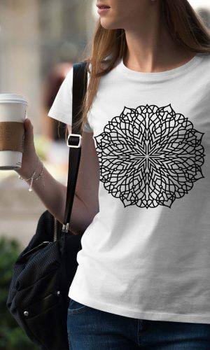 Дамска тениска Mandala W 001