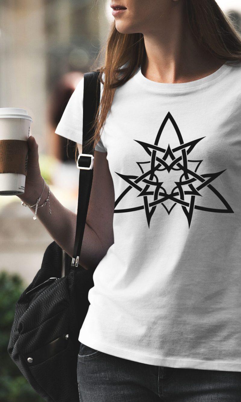 Дамска тениска Mandala W 010