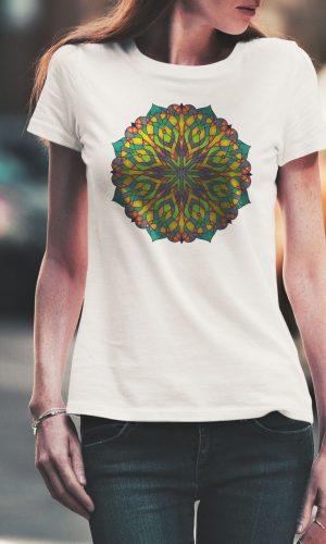 Дамска тениска Mandala W 011