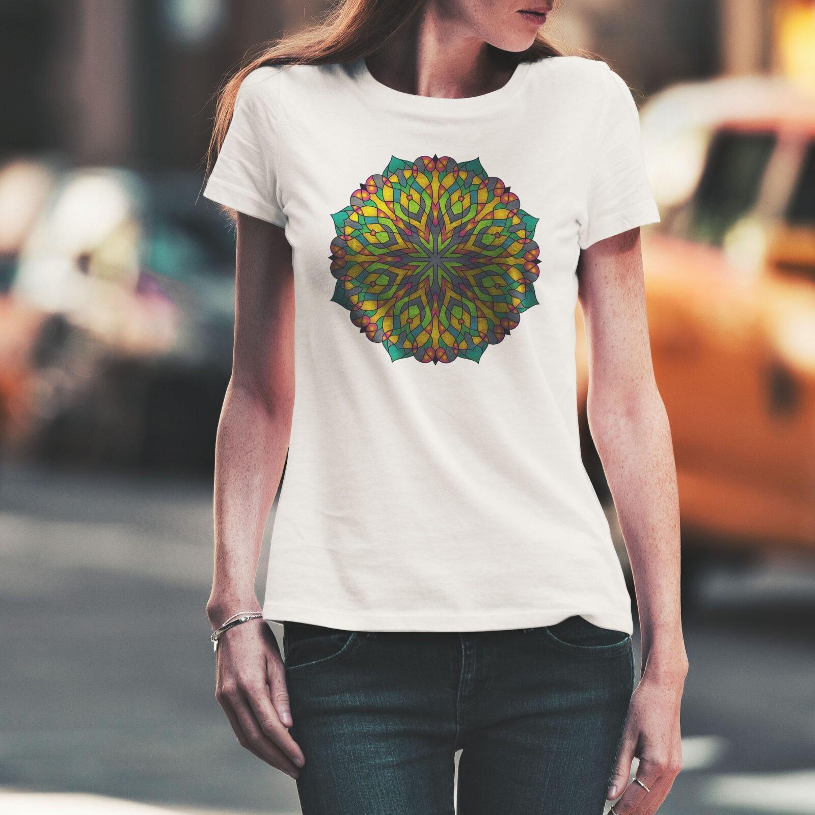 Дамска тениска Mandala W 011 - на супер цени от ZeroBG