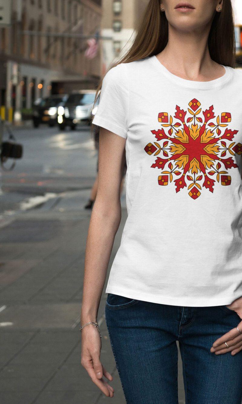 Дамска тениска Mandala W 012