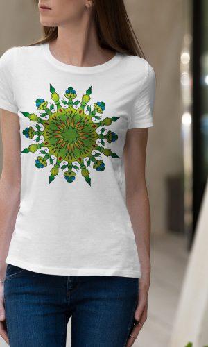 Дамска тениска Mandala W 013