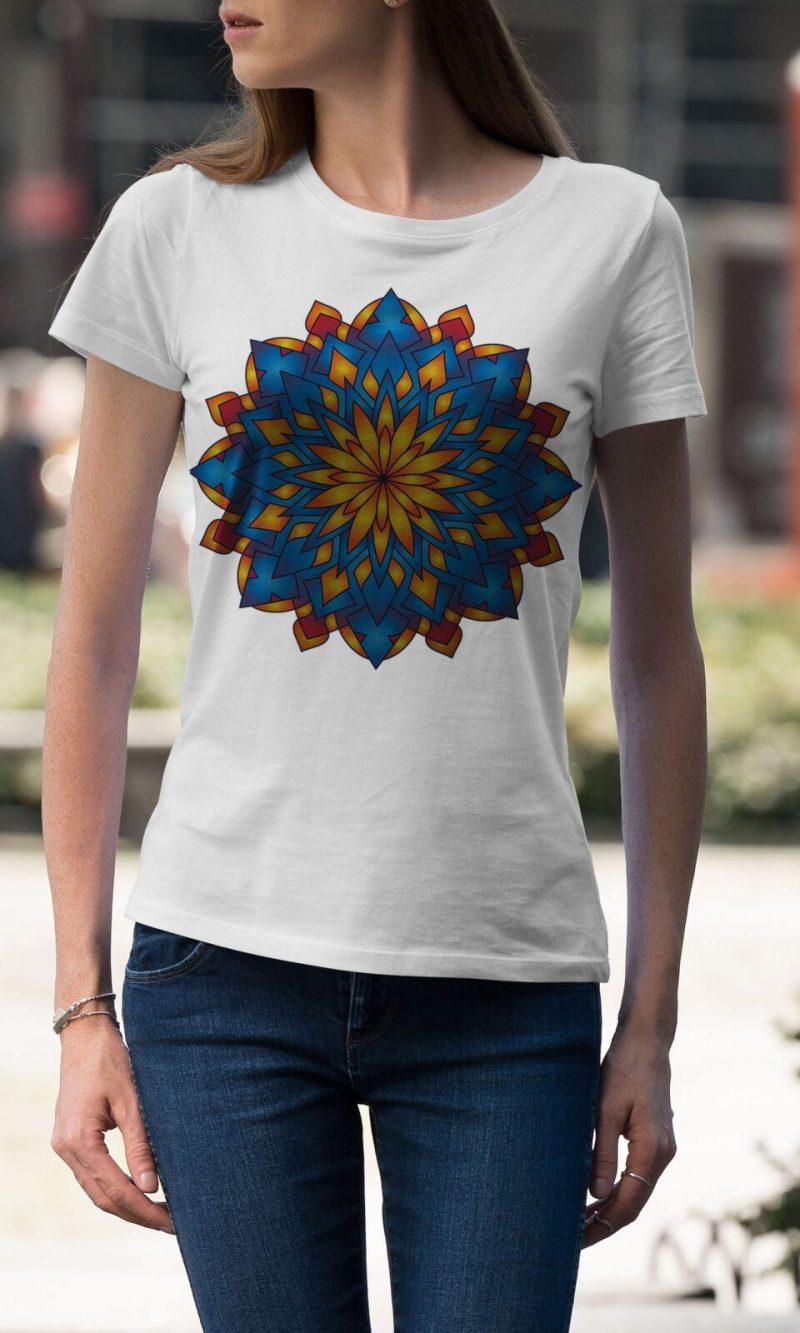 Дамска тениска Mandala W 014