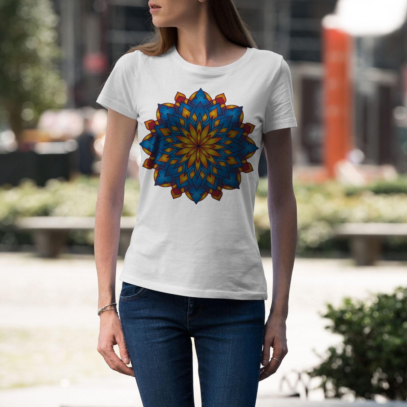 Дамска тениска Mandala W 014 - на супер цени от ZeroBG