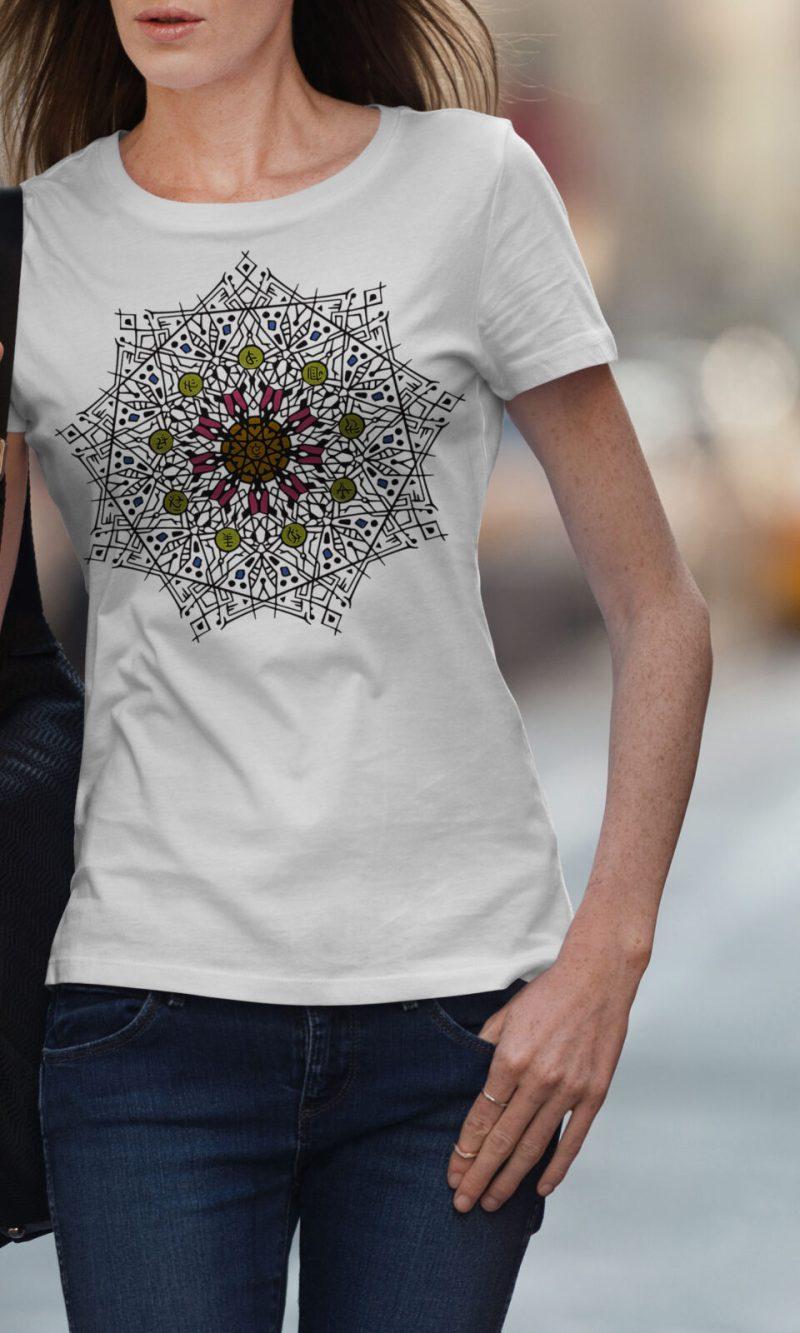 Дамска тениска Mandala W 015