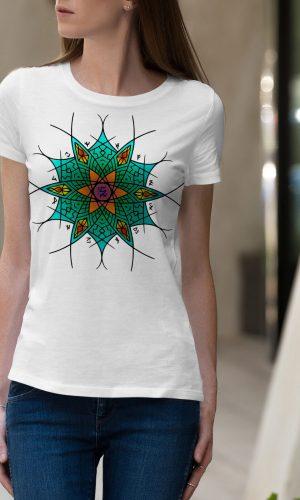 Дамски тениски Мандала