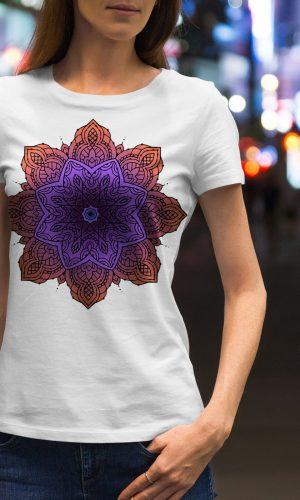 Дамска тениска Mandala W 019