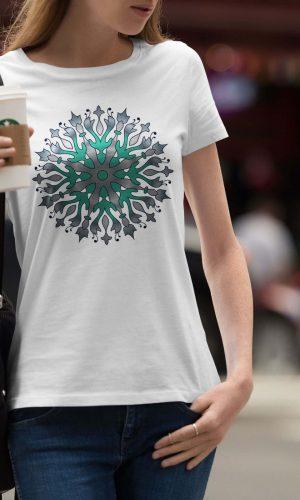 Дамска тениска Mandala W 002