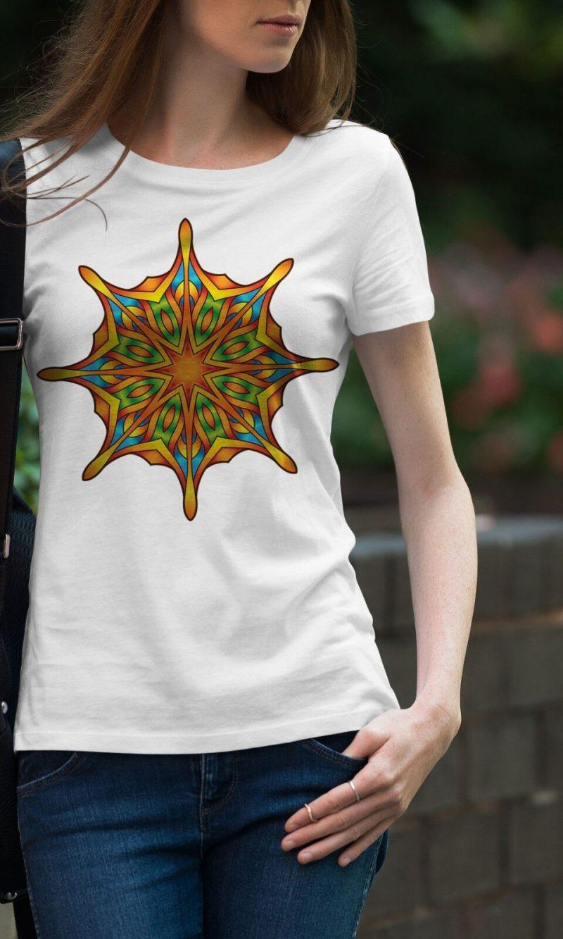 Дамска тениска Mandala W 003