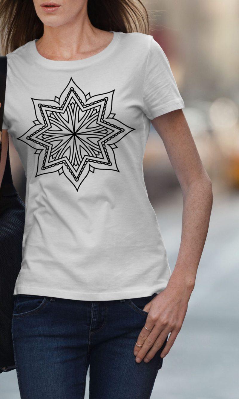 Дамска тениска Mandala W 004