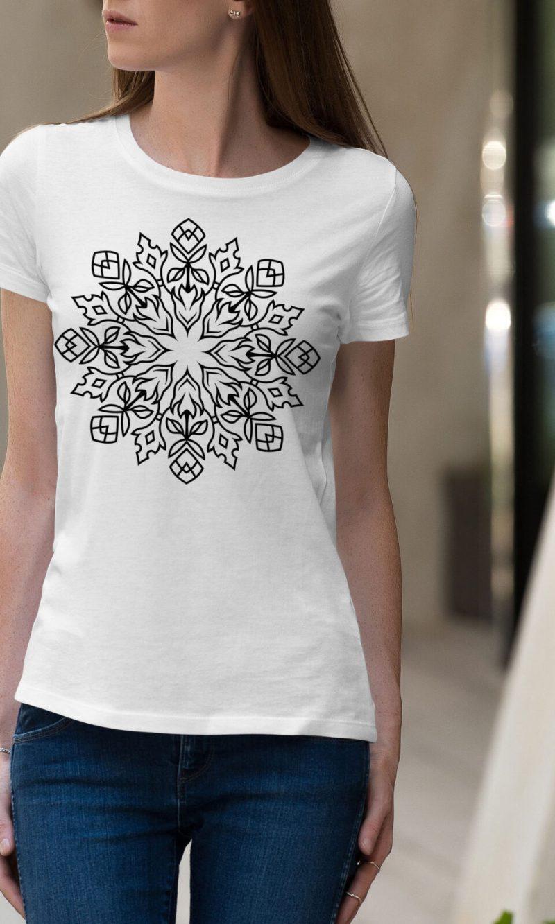 Дамска тениска Mandala W 005