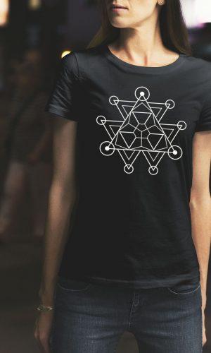 Дамска тениска Mandala W 009