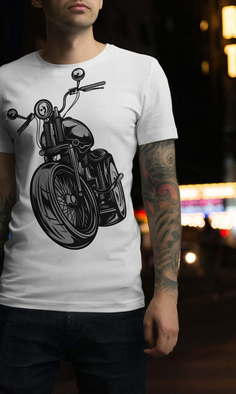 Мъжка тениска Moto M 004