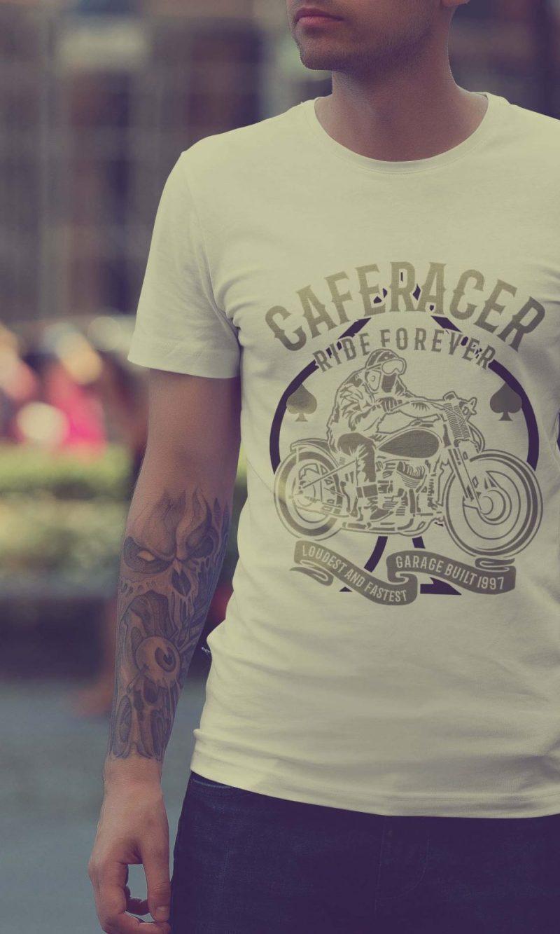 Мъжка тениска Moto M 005