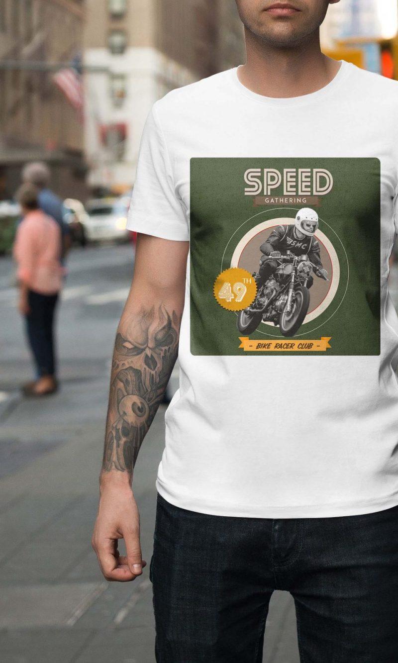 Мъжка тениска Moto M 010