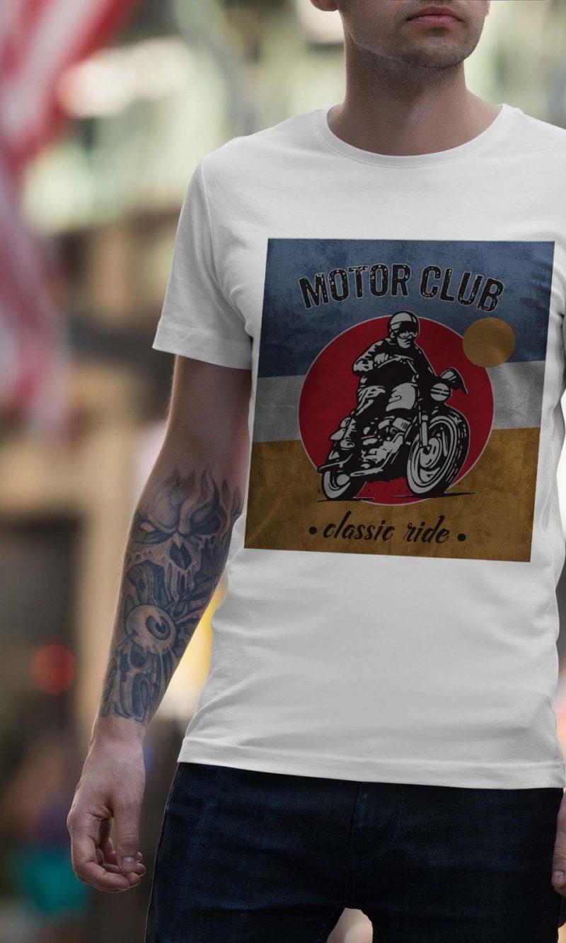 Мъжка тениска Moto M 011
