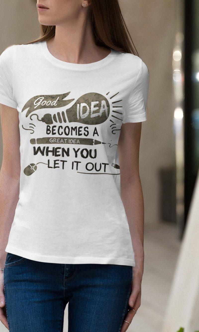 Дамска тениска Sentence W 019