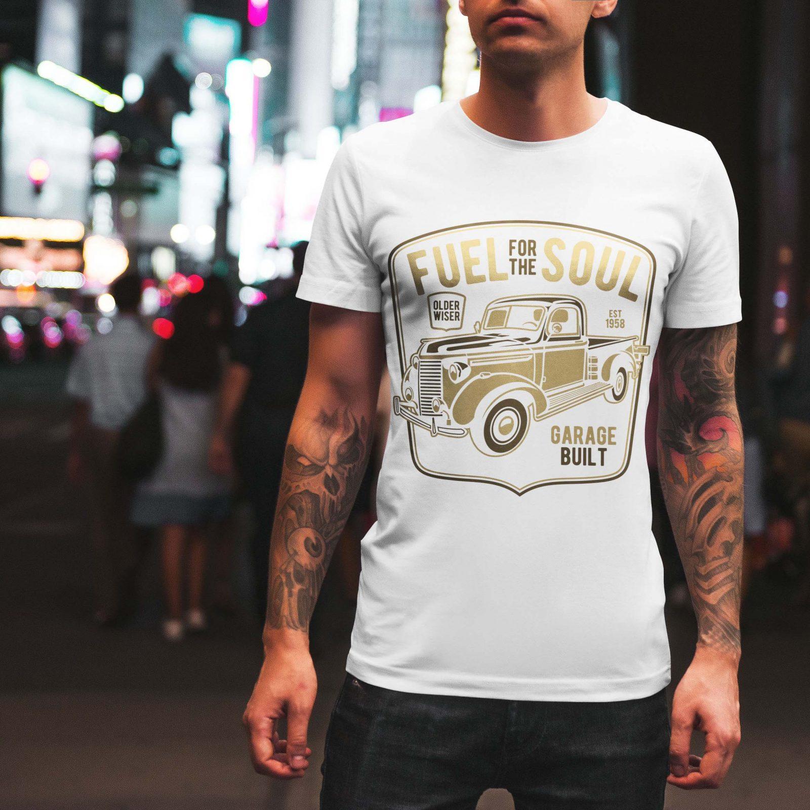 Ανδρικά μπλουζάκια Retro