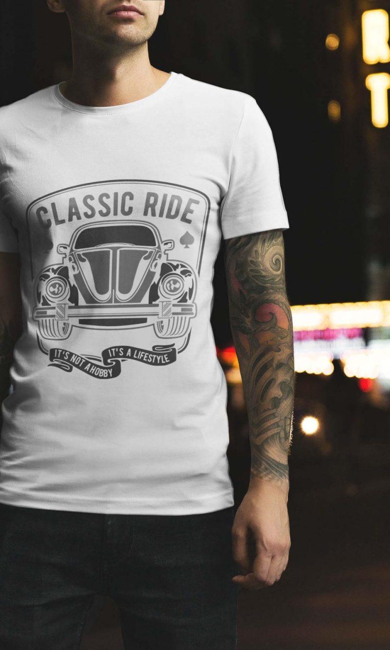 Мъжка тениска Retro M 004