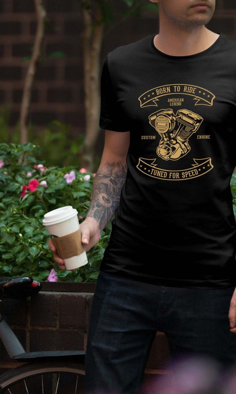 Мъжка тениска Retro M 008
