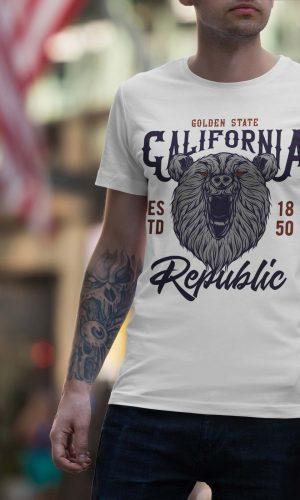 Мъжки ретро тениски