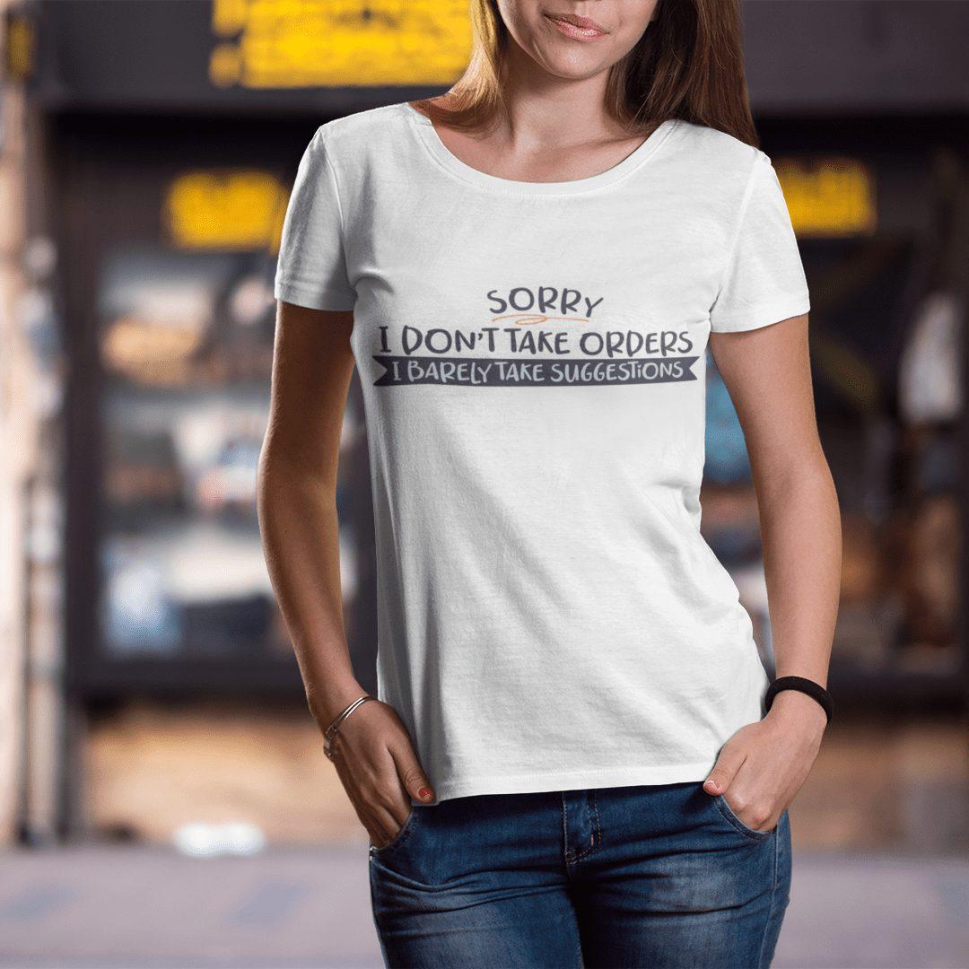 Дамски тениски с надписи
