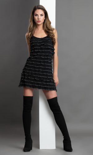 Дамска рокля код 395